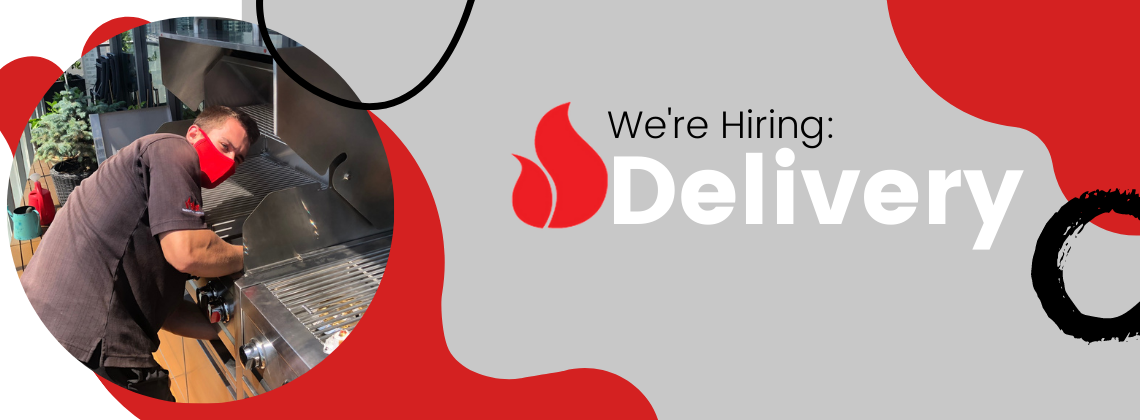 Barbecues Galore Calgary and Burlington are hiring a new delivery driver.
