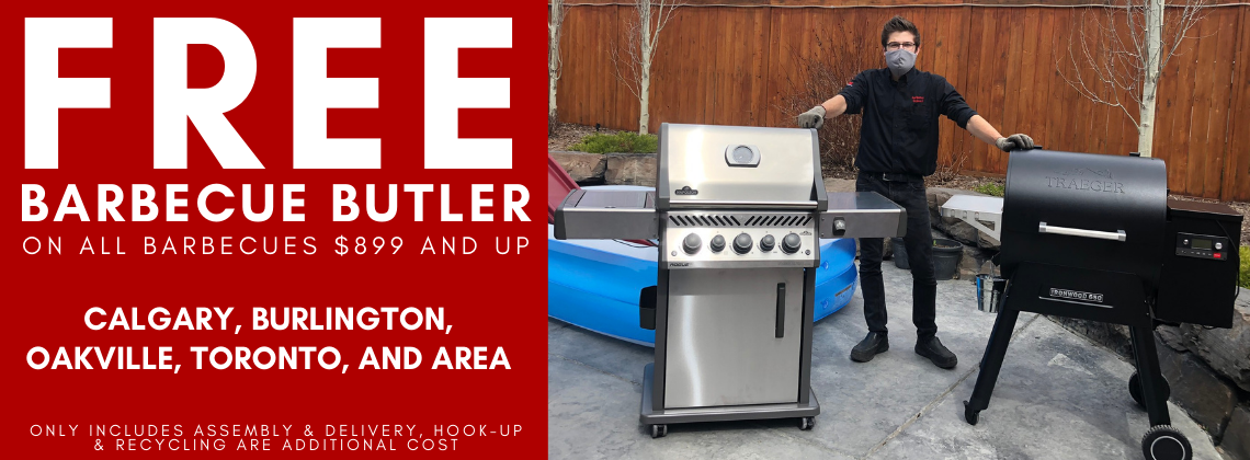 Free Barbecue Assembly and Delivery in Calgary, Burlington, Oakville, and Toronto