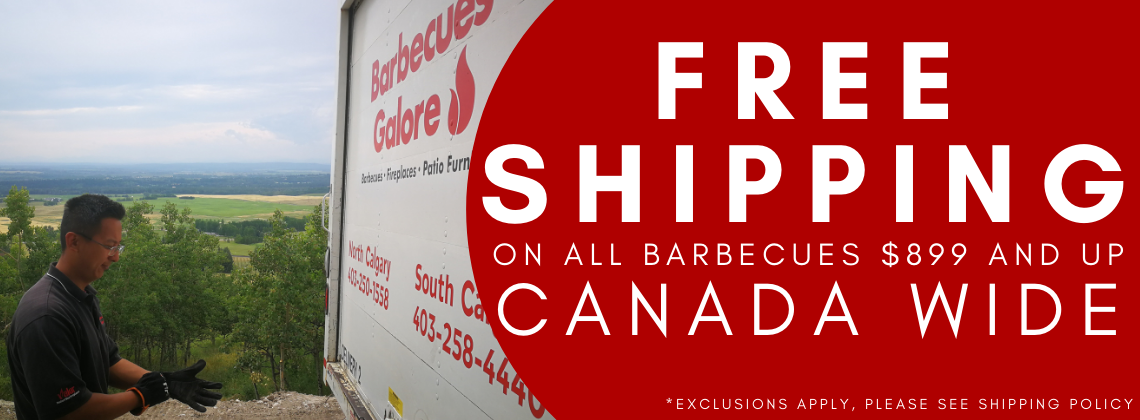 free shipping on barbecues canada wide