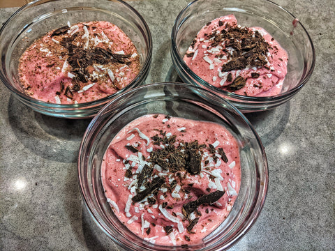 Food For Thought: Smoked Cherry Coconut Sorbet by Barbecues Galore