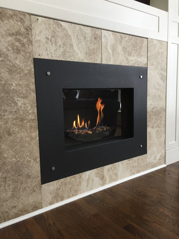Valor Fireplace with pilot light operation