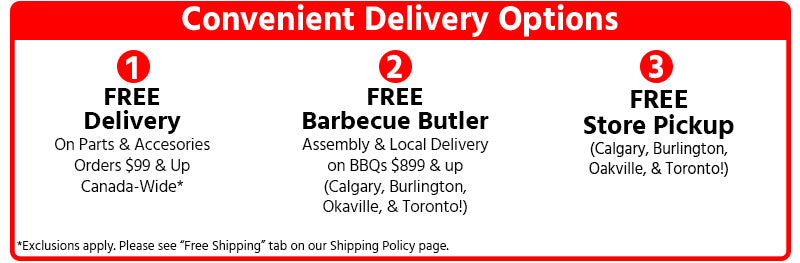 Barbecues Galore Delivery Options