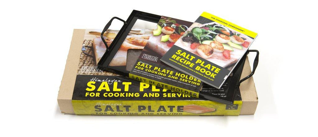 Charcoal Companion Salt Plate Gift Basket