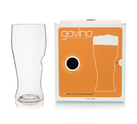 Govino Beer Pint Glasses