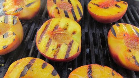 Food For Thought | Grilled Stone Fruit