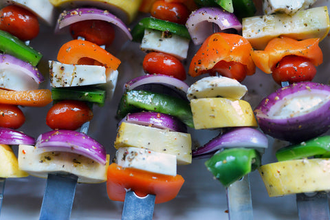 Grilled Halloumi Kabobs Recipe - Barbecues Galore