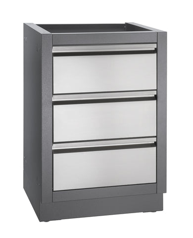 Napoleon Oasis Three Drawer Cabinet l Barbecues Galore