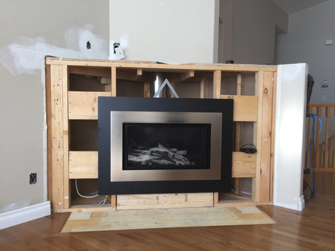 Zero Clearance Fireplace Installation
