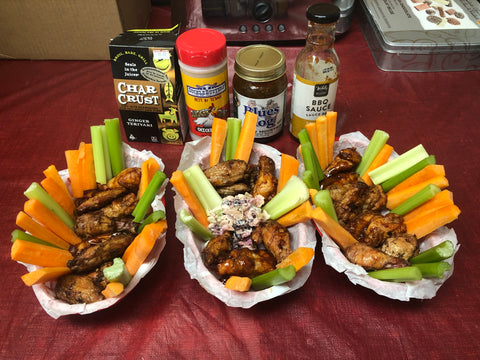 Post Rotisserie Basket Chicken Wings | Barbecues Galore