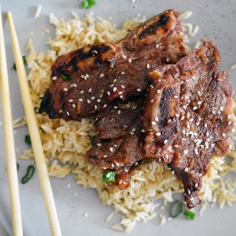 Galbi Korean Beef Short Ribs