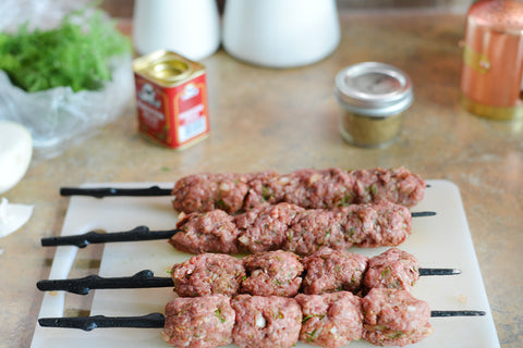 Barbecued Lamb Kofta Recipe
