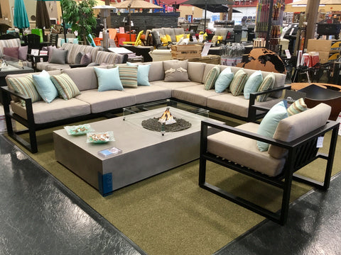 1867 Linden Sectional with Brown Jordan Equinox Burlington Ontario