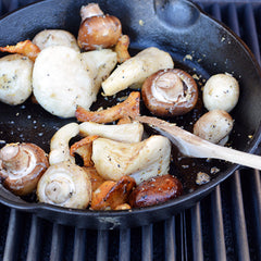 Barbecues Galore Grilled Mushrooms Recipe