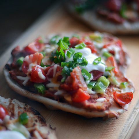 5 Super Bowl Worthy Recipes - Grilled Nacho Pizza