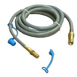 Natural Gas Hose, Dust Cap, and Nipple
