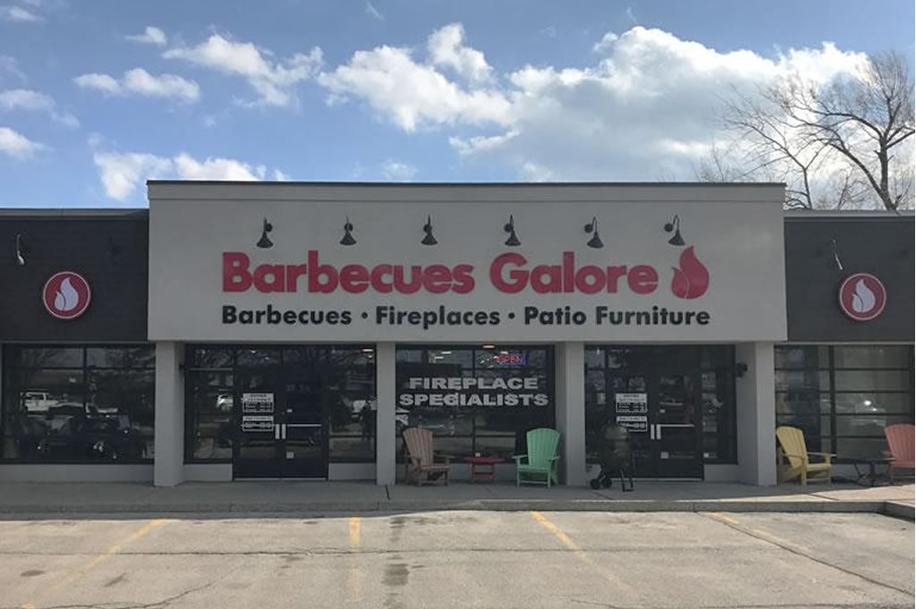 Barbecues Galore Oakville Storefront