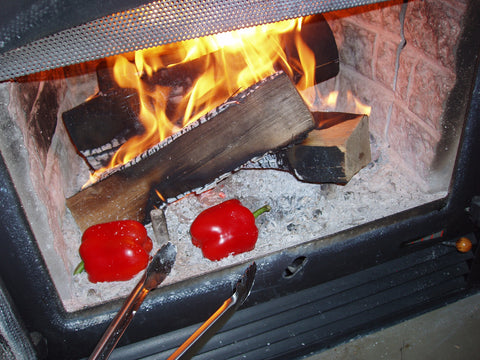 Fireplace Peppers Recipe