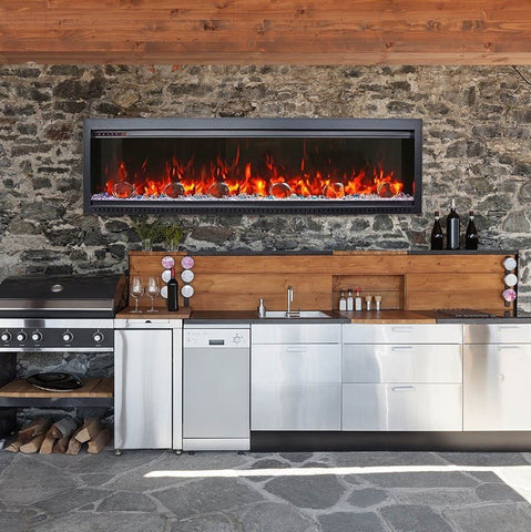 Design Inspo: All New Amantii Bespoke Electric Fire Place by Barbecues Galore