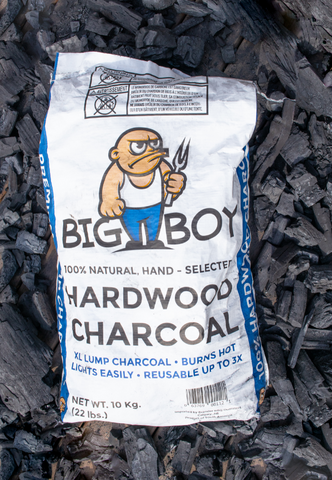 big boy hardwood charcoal, from barbecues galore