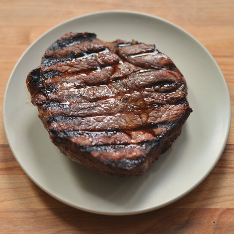 Preheat grill to medium-high; place steaks on preheated grill and cook
