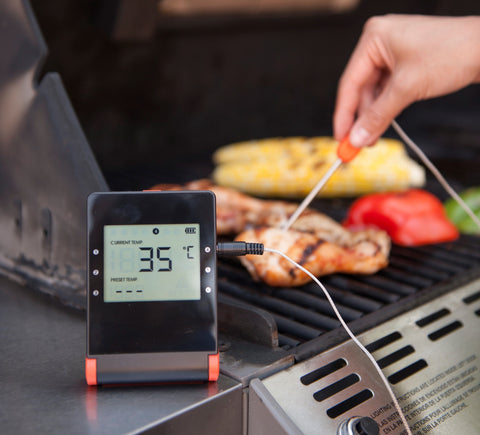 meat smoker thermometer, barbecues galore