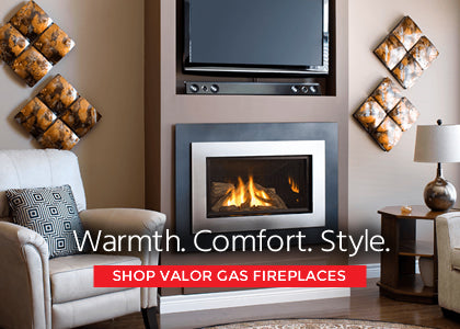 SHOP VALOR GAS FIREPLACES