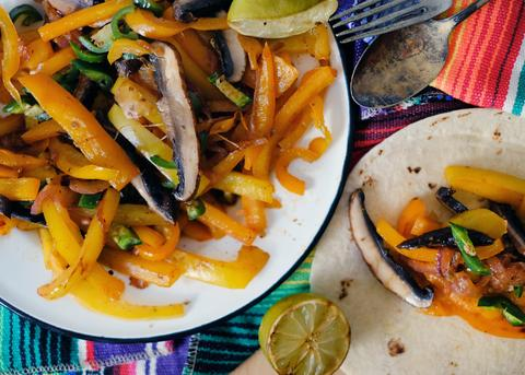 Food For Thought: Back Eddy's Southwest Vegan Veggie Fajitas Recipe by Barbecues Galore
