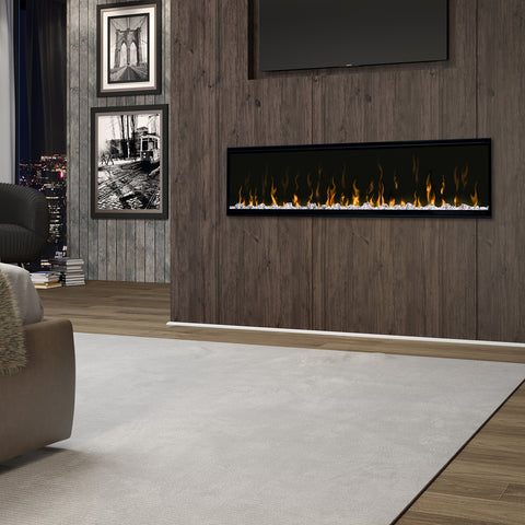 """Dimplex IgniteXL® 60"""" linear Electric Fireplace In Living Room   Barbecues Galore"""