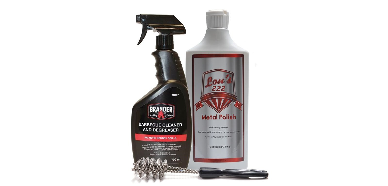 Barbecue Cleaning Gift Basket