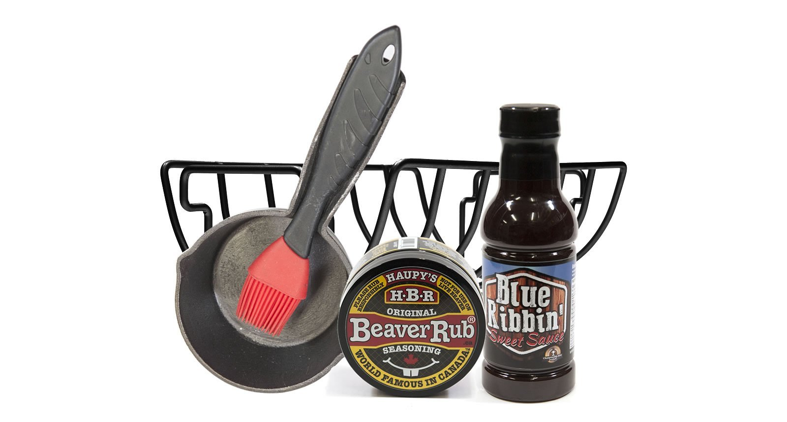 Rib Themed Barbecue Gift Basket