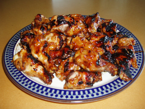 Asian Grilled Chicken Wings