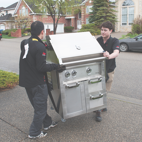 Shop built in barbecues in Calgary and Toronto