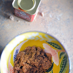 Place the brown sugar in a small bowl.