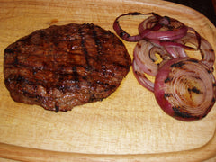 Flank Steak Sandwiches with Vidalia Onions