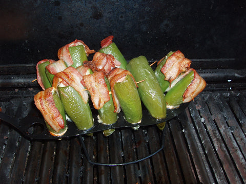 5 Super Bowl Worthy Recipes - Barbecue Roasted Jalapeno Peppers