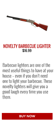 Barbecues Galore Stocking Stuffer Gift Guide | Novelty Barbecue Lighters