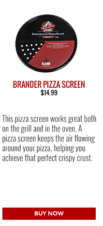 Barbecues Galore Pizza Lovers Gift Guide - Brander Porcelain Coated Pizza Screen