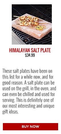 Barbecues Galore Gift Guide | Charcoal Companion Himalayan Salt Plate
