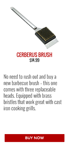 Barbecues Galore Gift Guide | Brander Cerberus Grill Brush