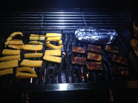 Get your food on the grill!