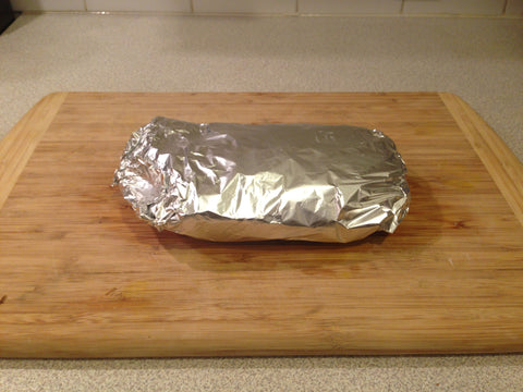 Wrap up your potatoes and onions into a nice foil packet