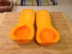 Slice up your butternut squash