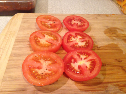 Slice up your tomatoes