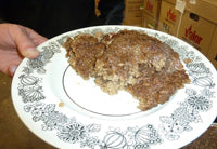 Cooked Delicious Haggis Out of the Casing