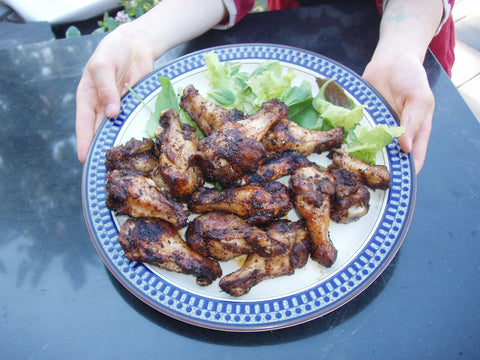 5 Super Bowl Worthy Recipes - Grilled Jerk Chicken Wings Recipe