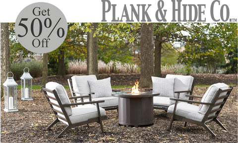Plank & Hide Patio Furniture Sale at Barbecues Galore