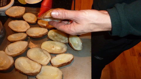 Grilled Potato Skins Recipe