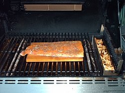 Salmon Filet on a Cedar Plank