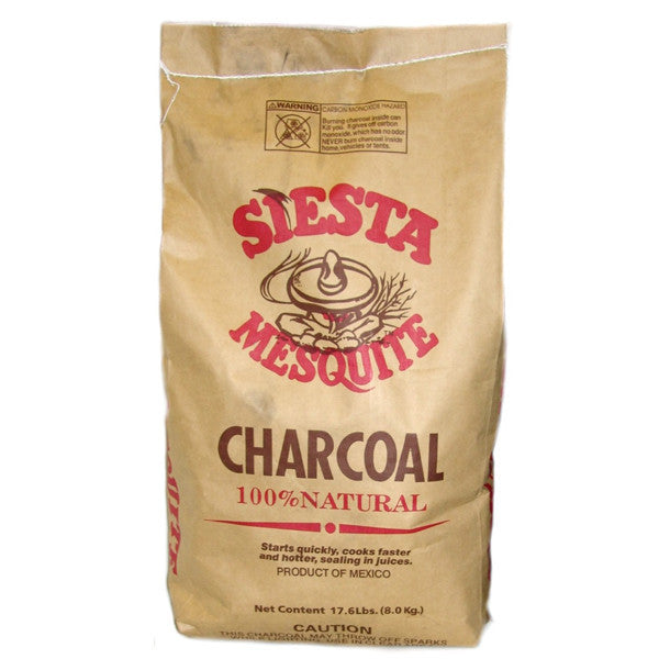 Siesta Mesquite Charcoal - 7 lb bag | Barbecues Galore