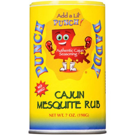 Punch Daddy Cajun Mesquite Seasoning